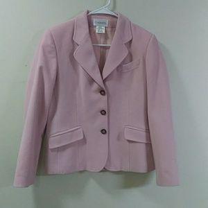Chadwicks Women's Pink Blazer Size 6